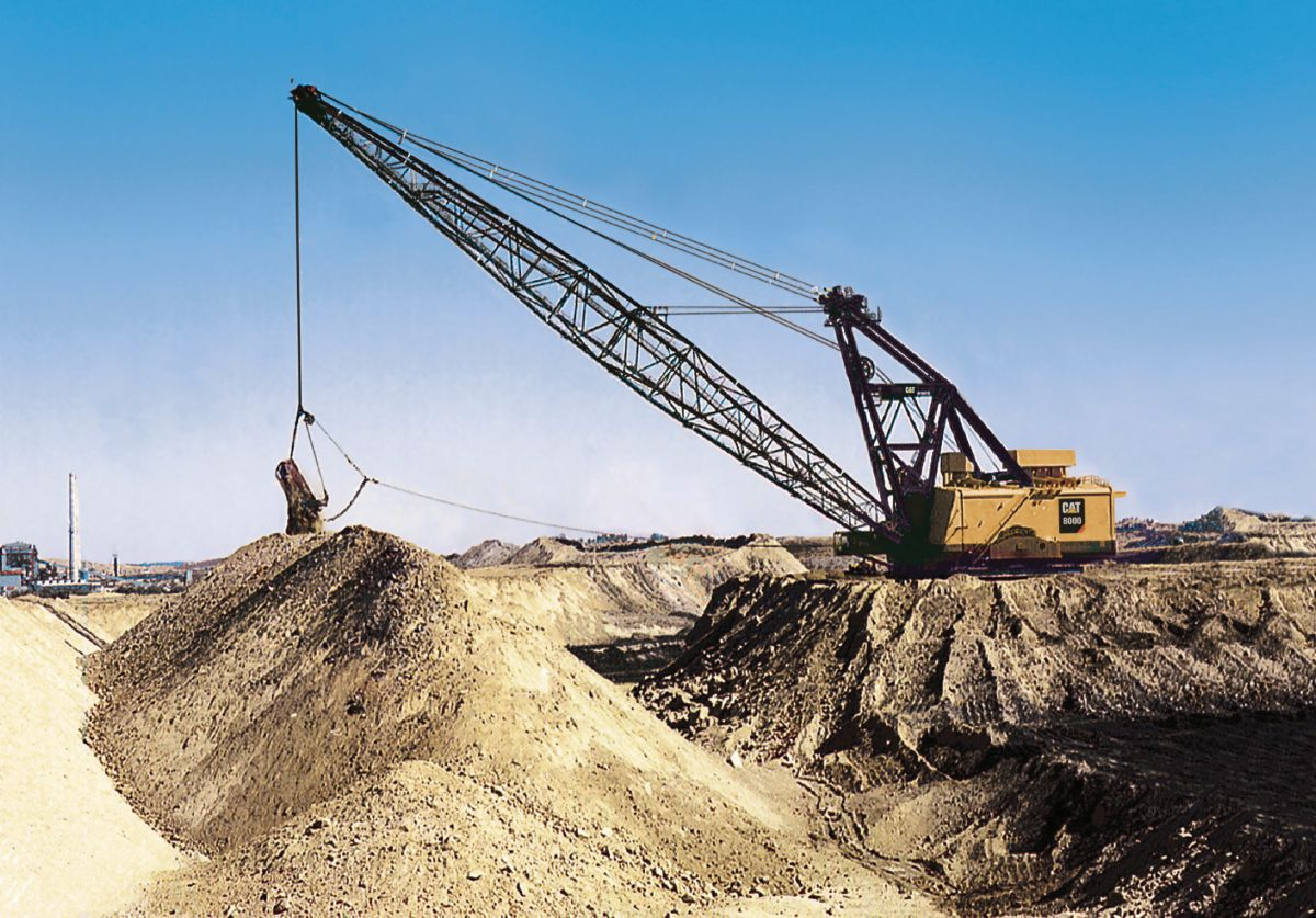 product-8000 Dragline Range