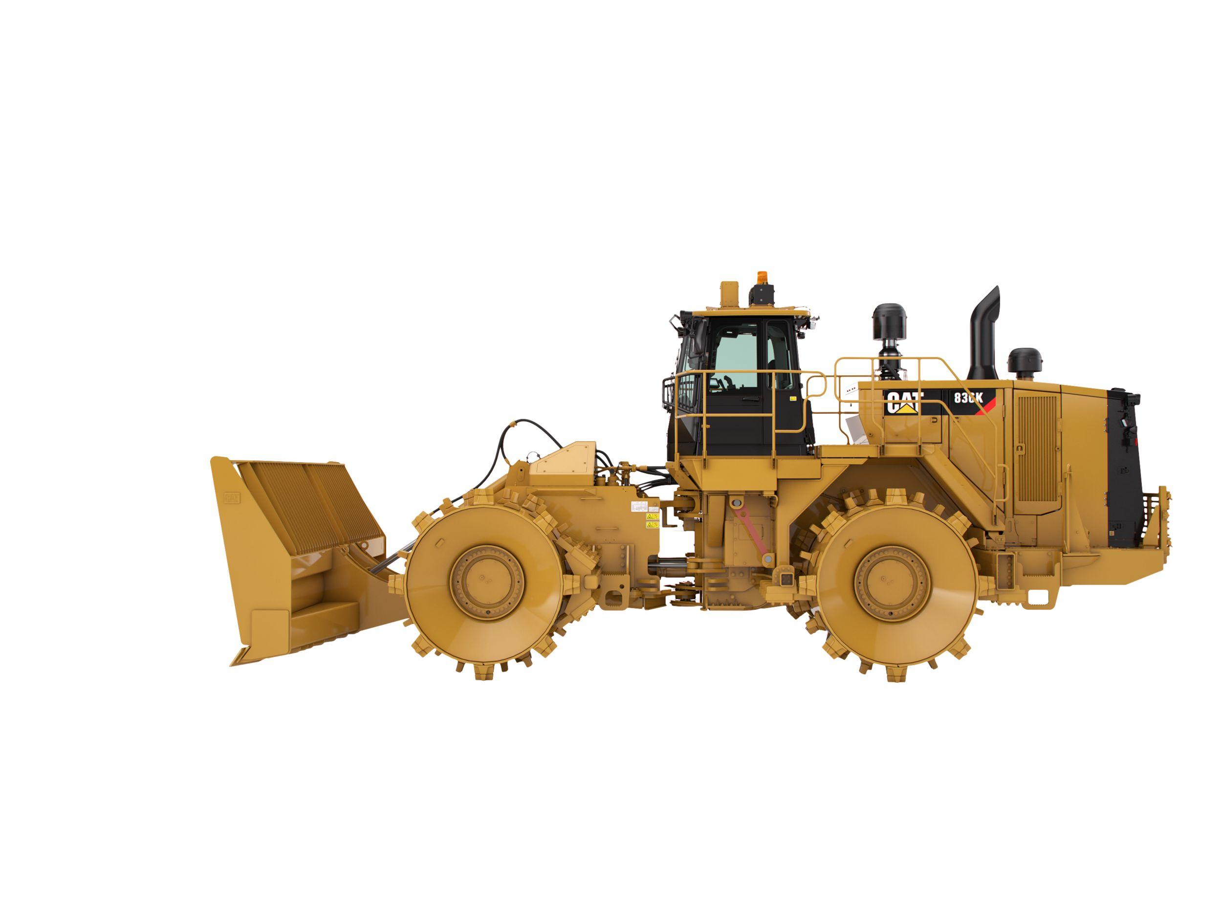 836K Landfill Compactor>