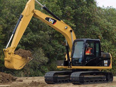 Excavadora Pequeña 312D/D2 L
