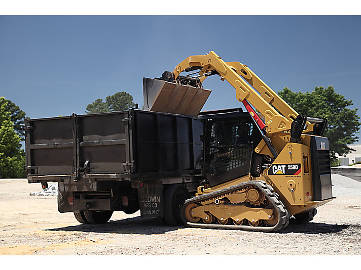 Cat | 259D Compact Track Loader | Caterpillar