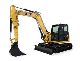 Excavators For Rent in Arkansas - Small, Medium, Large   Riggs CAT