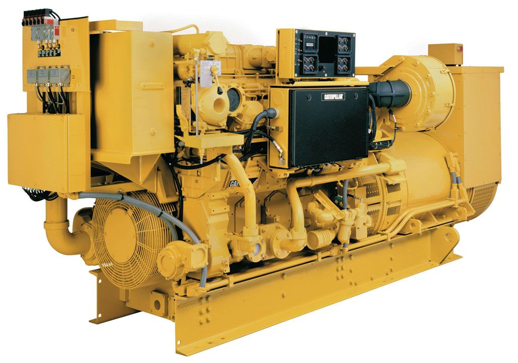 3508B Marine Generator Set