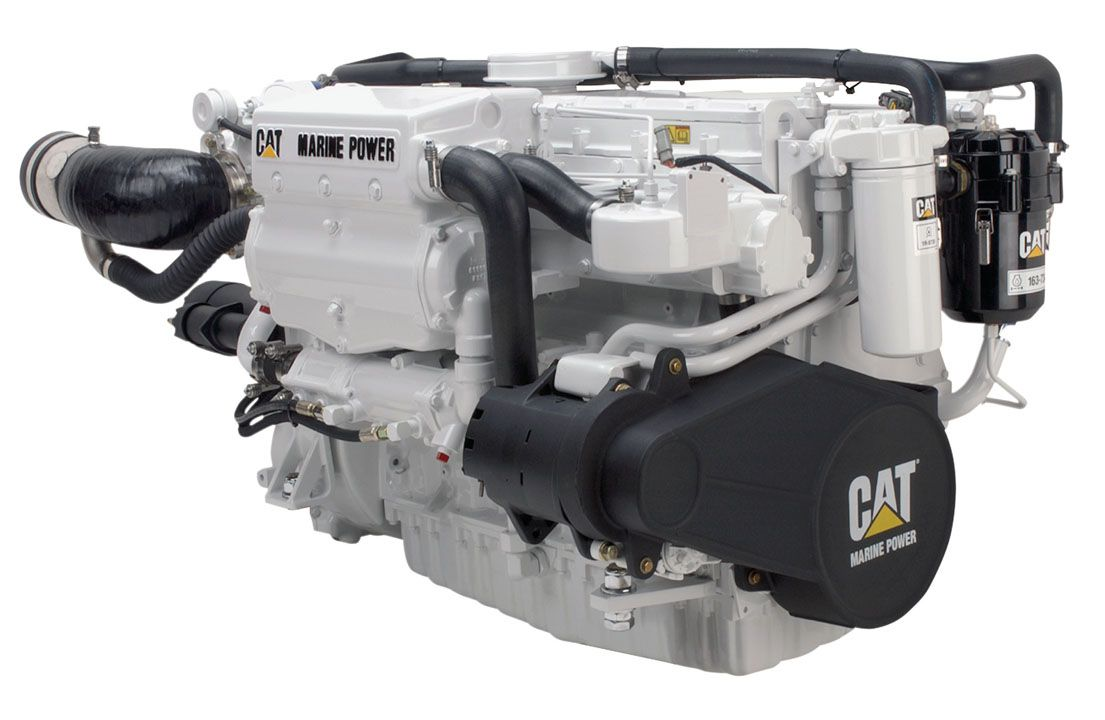 New Caterpillar High Performance Propulsion and Maneuvering Solutions