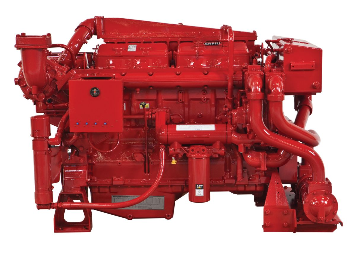 Cat® 3412C Fire Pump