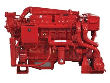 3412C - Diesel Fire Pumps