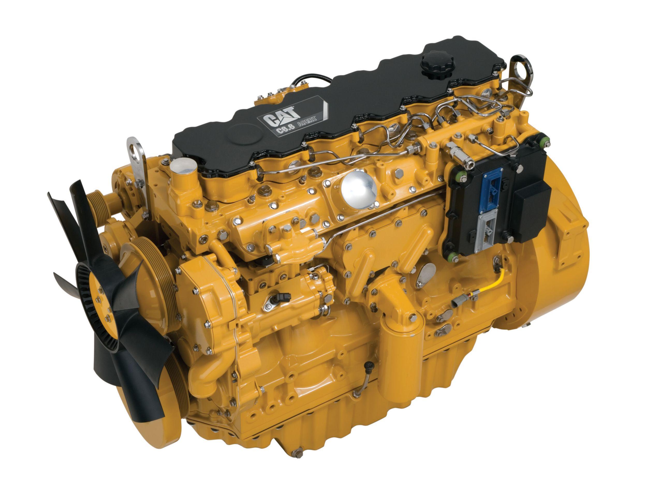 Motores Diésel C6.6 ACERT Tier4: altamente regulados