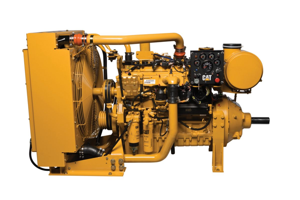 C7 ACERT™ LRC Industrial Power Unit Diesel Power Units - Lesser Regulated & Non-Regulated