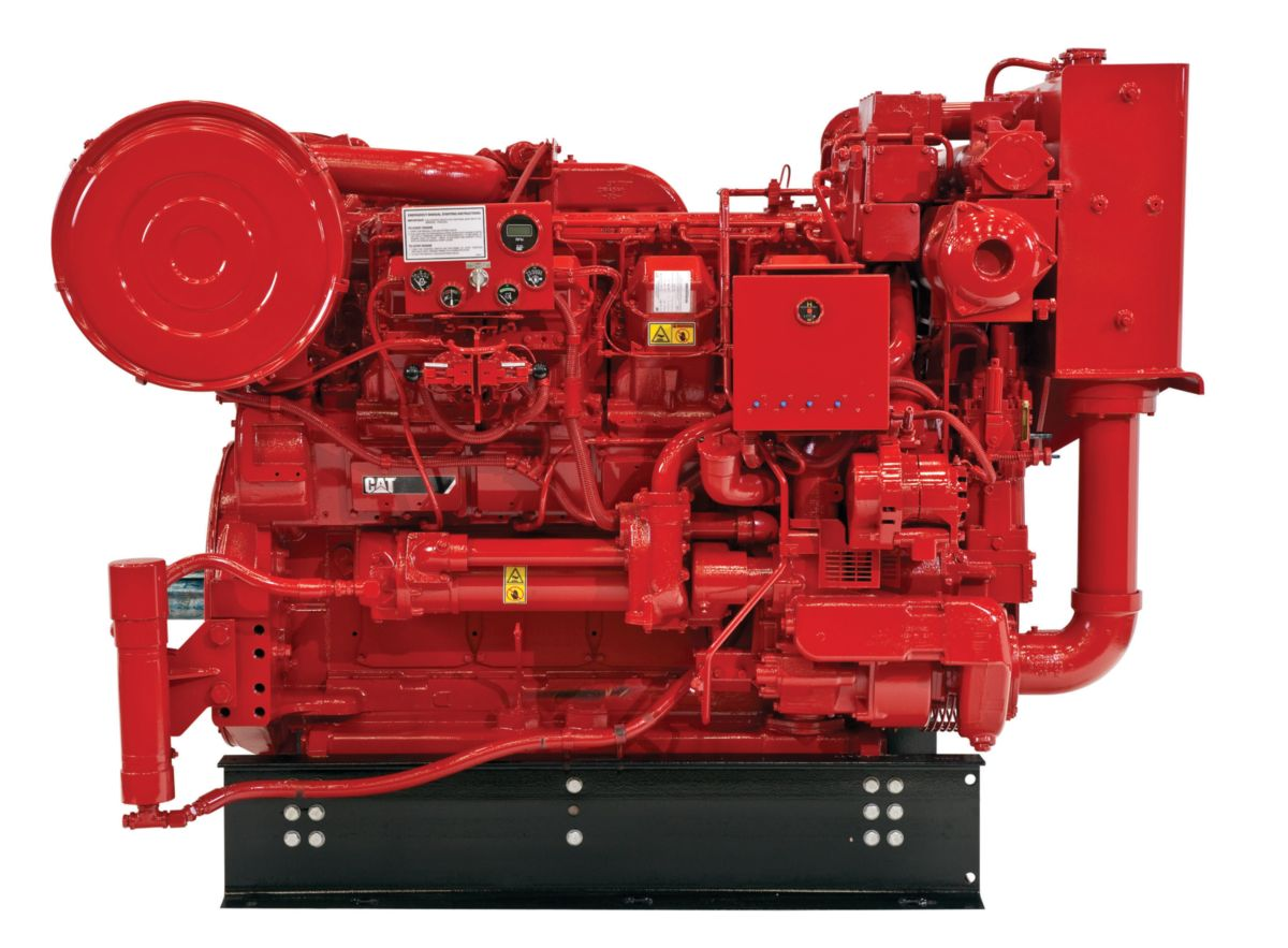 3508 Fire Pump Diesel Fire Pumps - Highly & Lesser Regulated