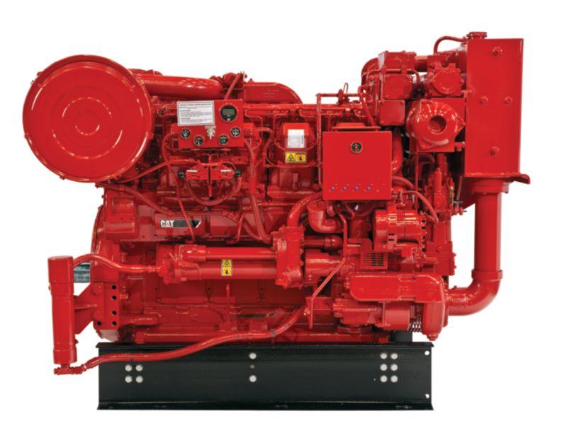 3508 Fire Pump Diesel Fire Pumps - Highly & Lesser Regulated