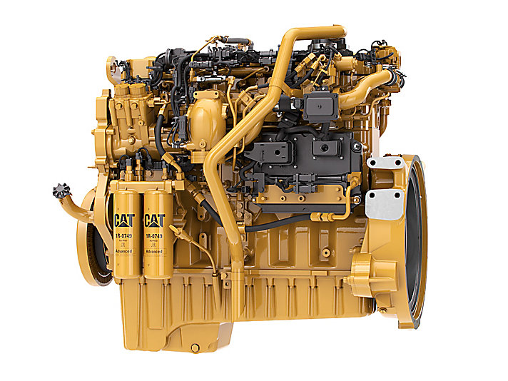 C9 3 Acert Tier 4 Final Engine Finning Cat