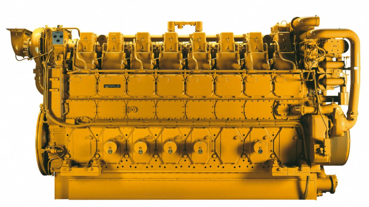 Cat® 3606 Industrial Diesel Engine