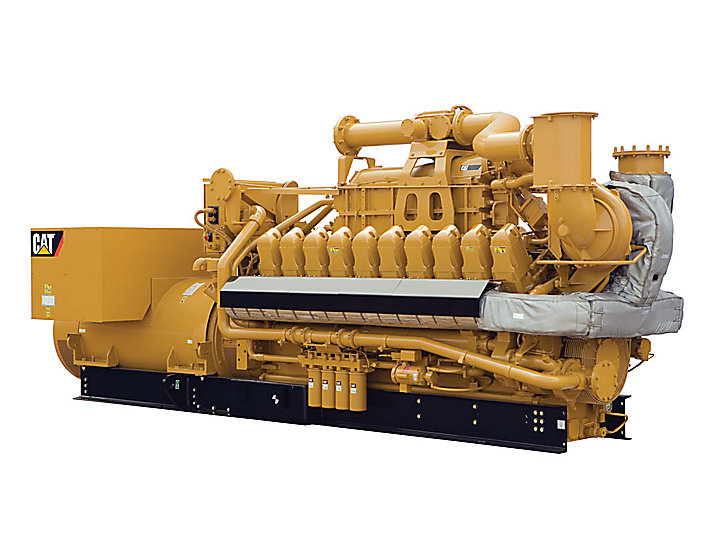 Cat G3520e Gas Generator Set Caterpillar