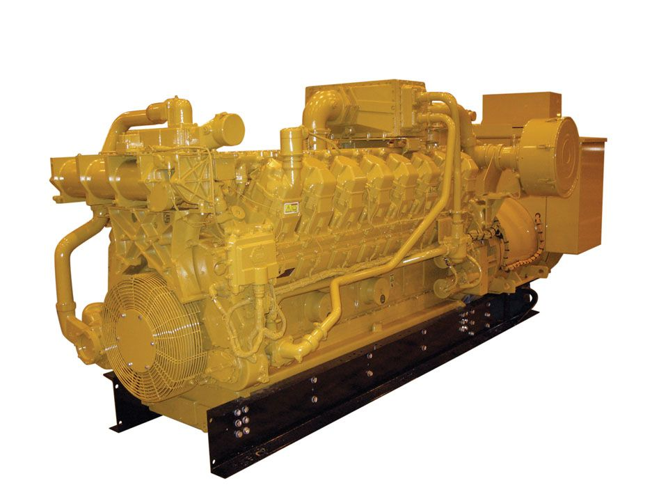 G3516A  Gas Generator Sets