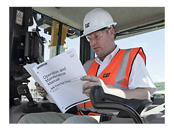 Operation & Maintenance Manuals contain operating, maintenance, safety, and service information.