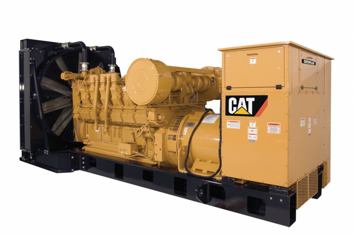 New Cat 174 3512a Generator Set 18321548 In Uae Kuwait