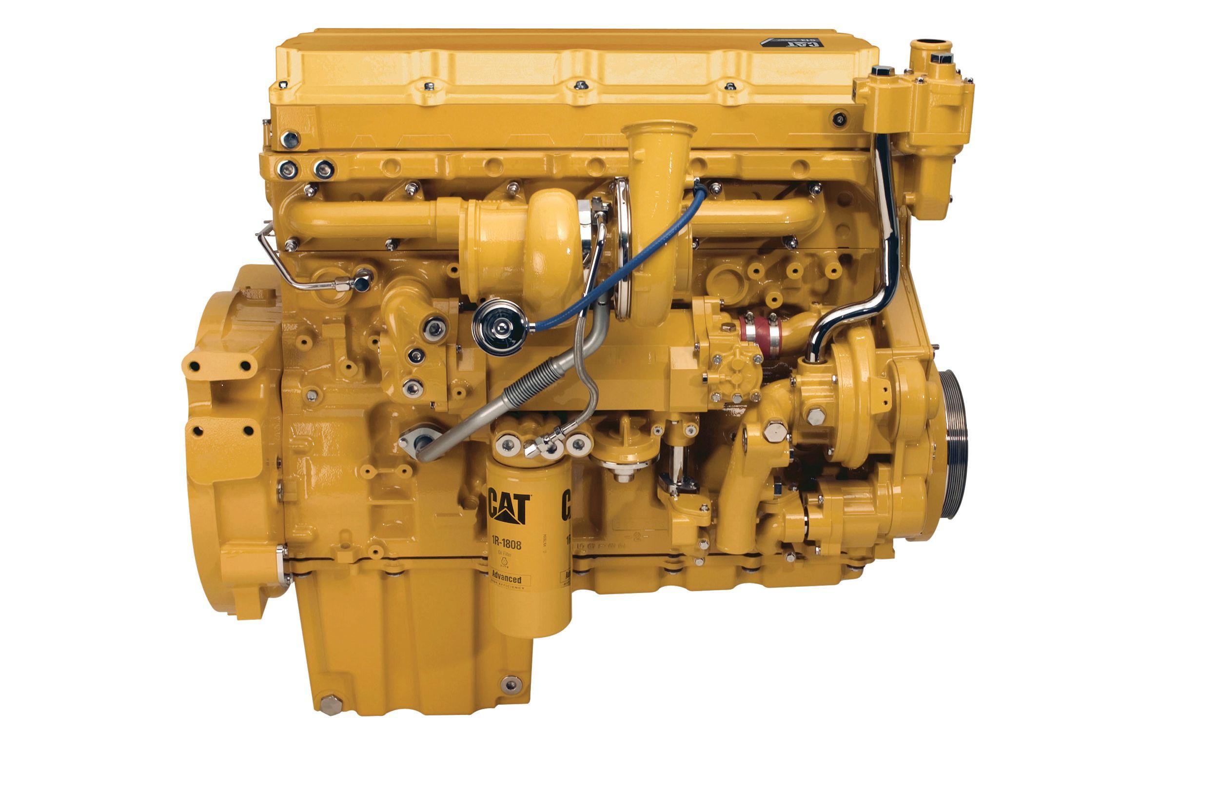 C13 ACERT™ Dry Manifold Engine