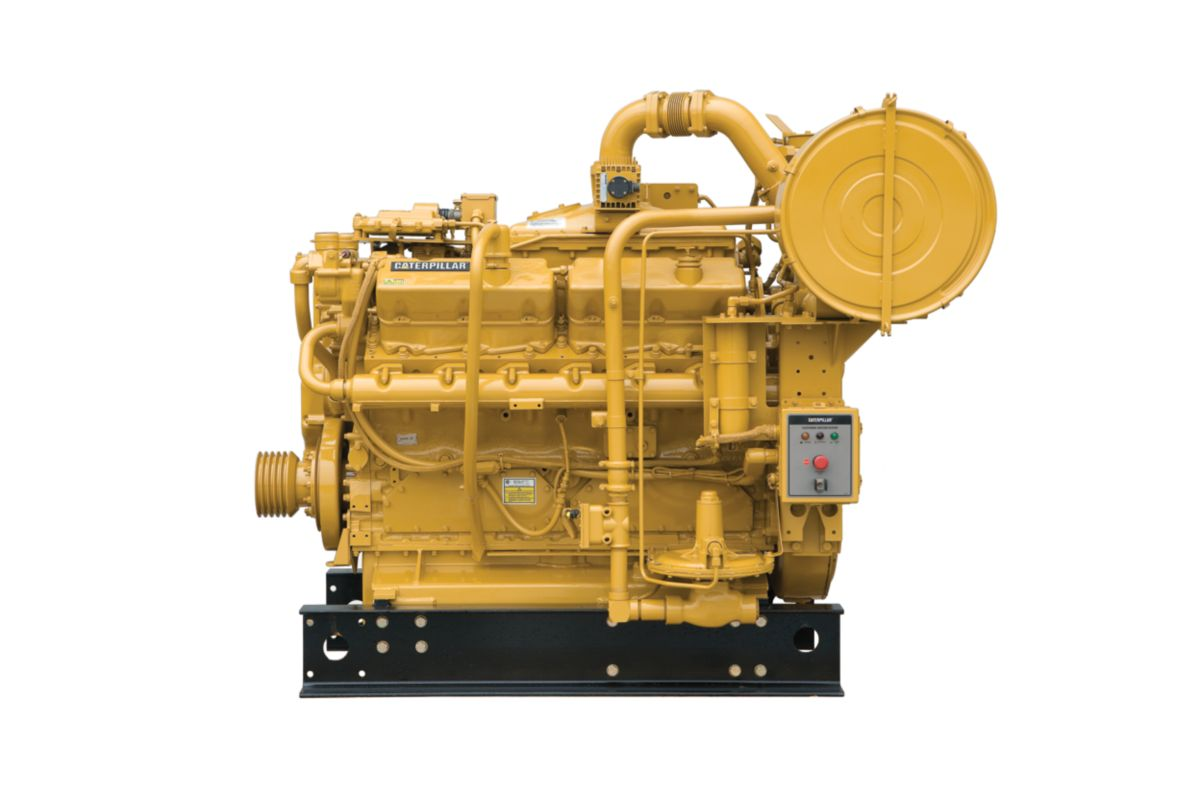 G3412C Low Emissions Gas Petroleum Engine Gas Compression Engines>