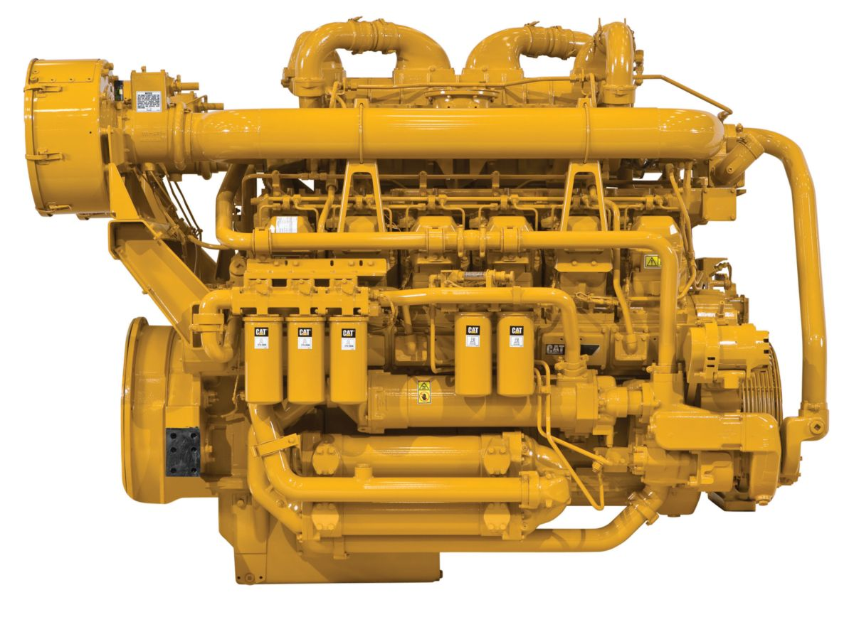 Cat® 3512C Industrial Diesel Engine
