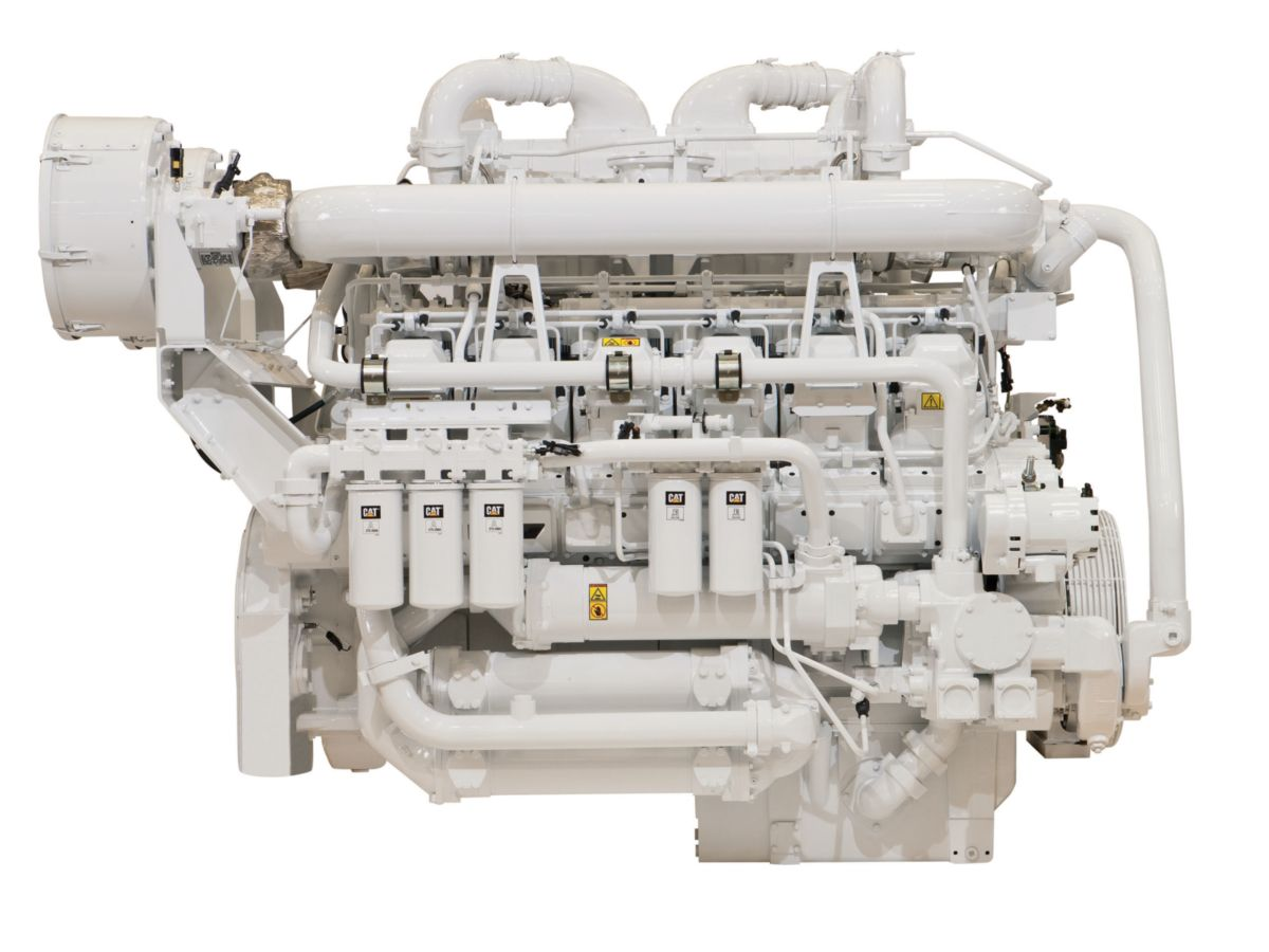 3512C (HD) Offshore Well Stimulation Engine
