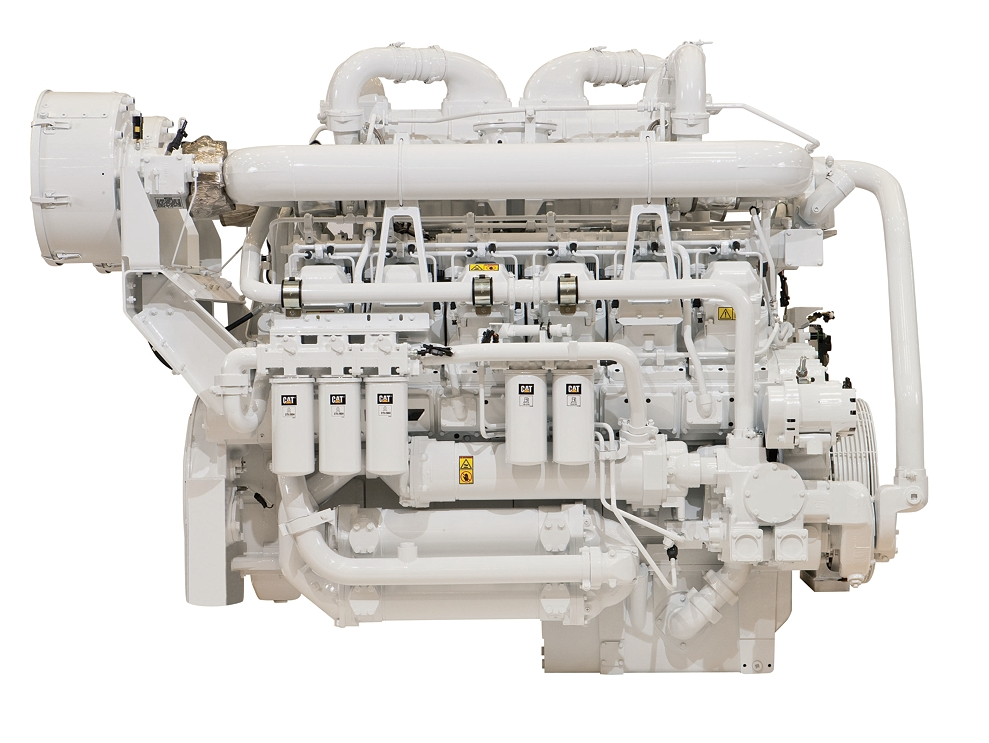 3512C HD SCAC Offshore Well Service Petroleum Engine