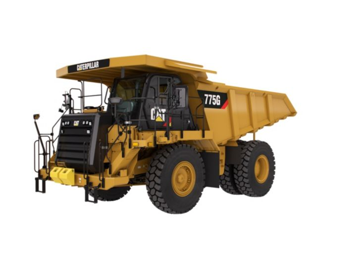 Tombereaux de chantier - 775G