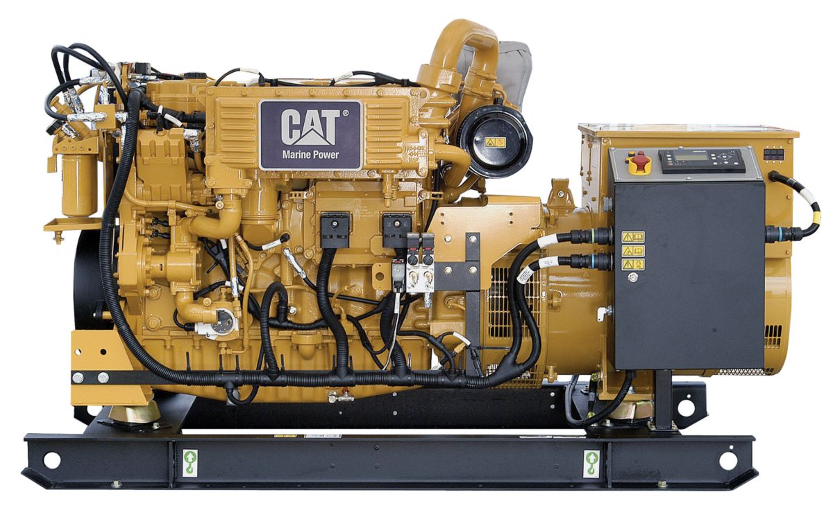 New Caterpillar Auxiliary Engines