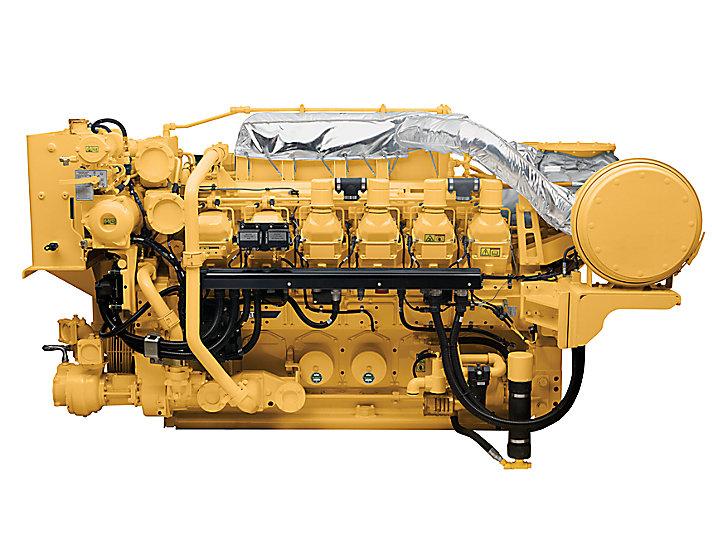 Cat 3512c High Displacement Marine Generator Set