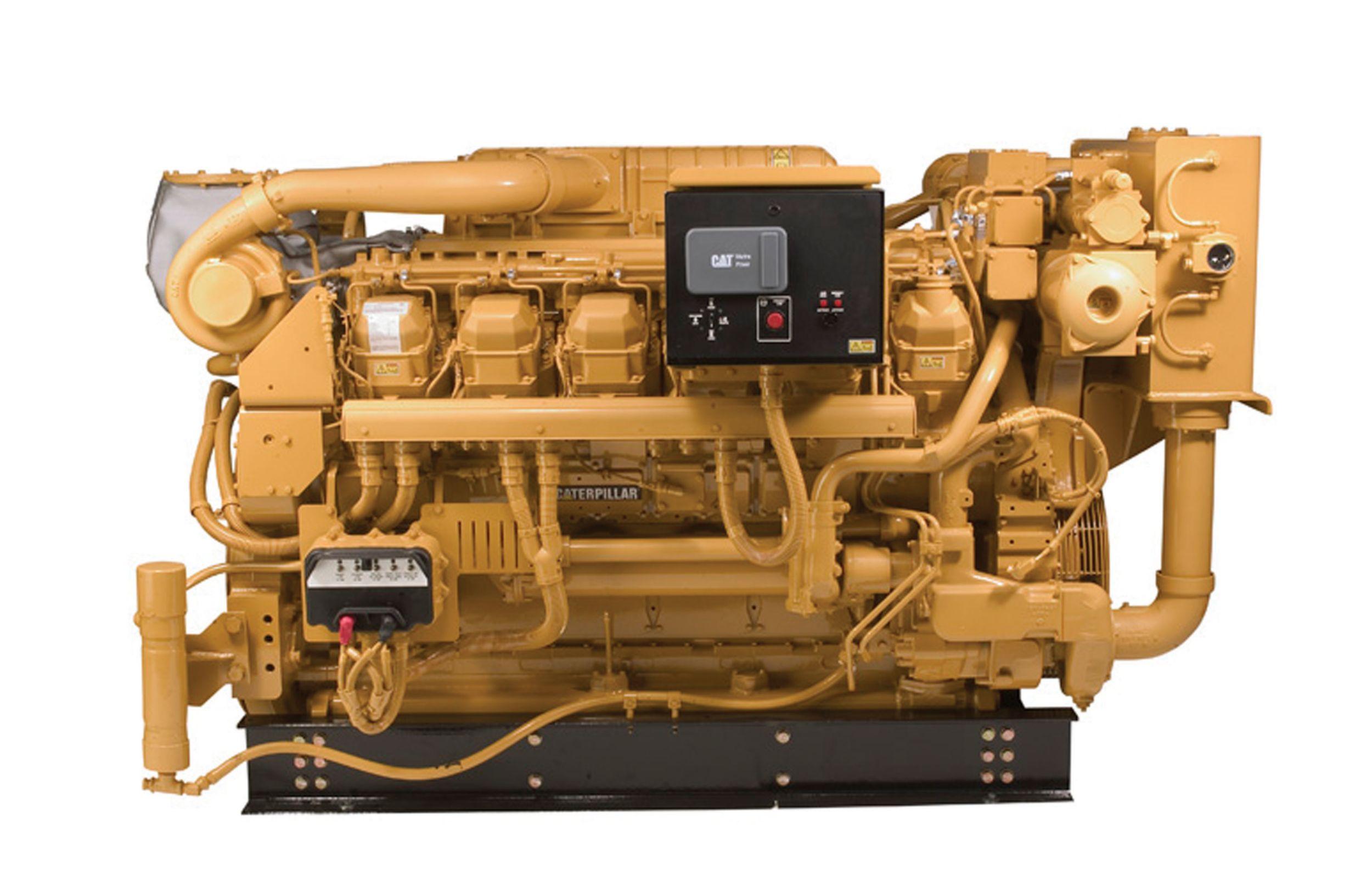 3512B Marine Generator Set