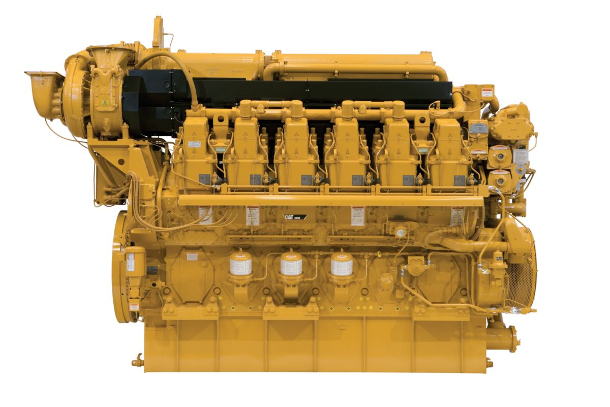 C280-12 Marine Propulsion Engine (EPA Tier 4)