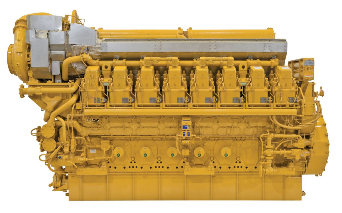 C280-16 Commercial Marine Propulsion Engine
