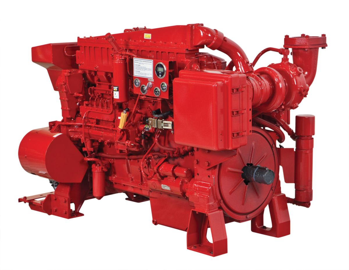 3406C Fire Pump Engine