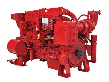 Motores de bomba de incendio