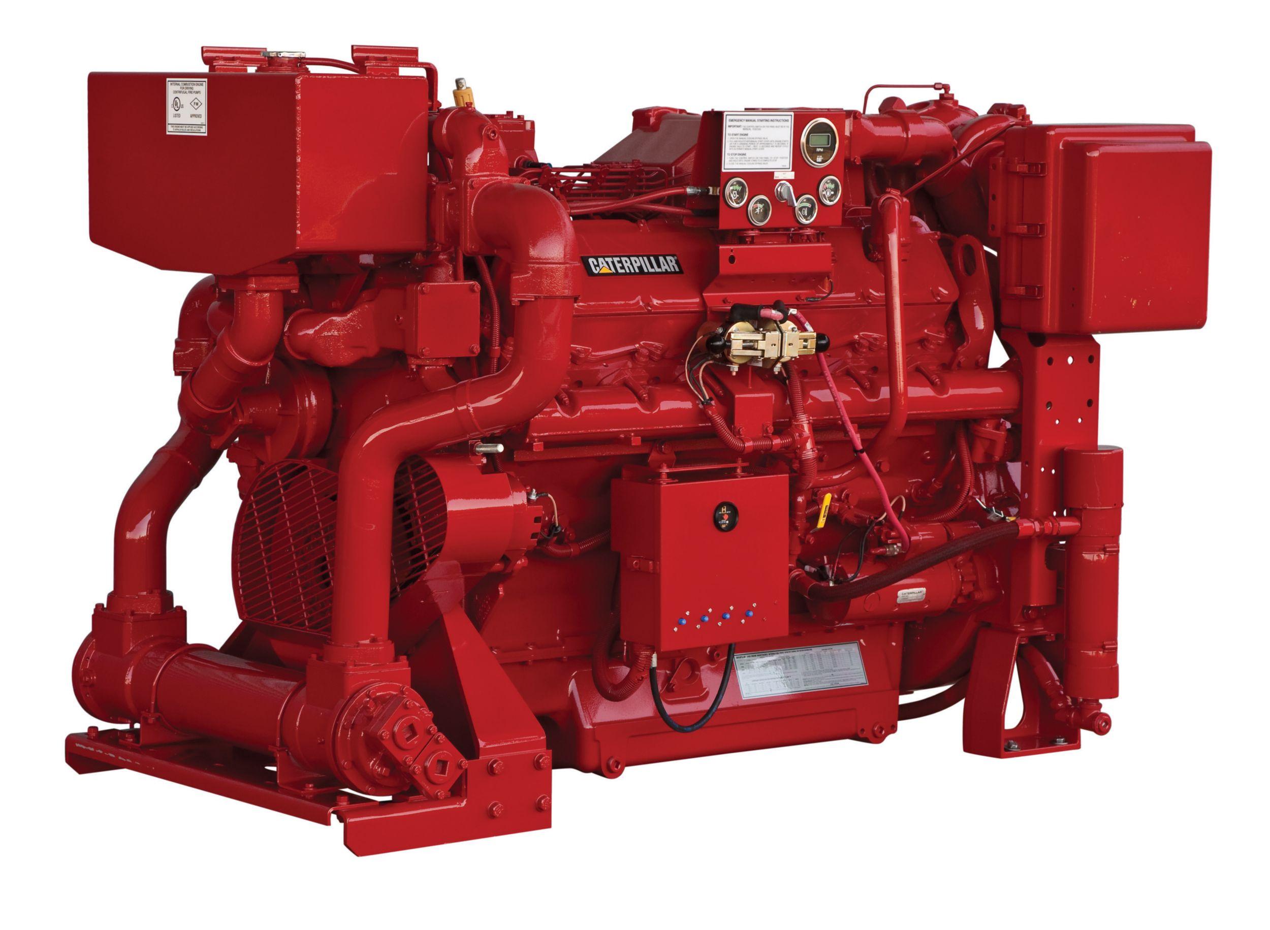 Motor de Bomba de Incendio 3412