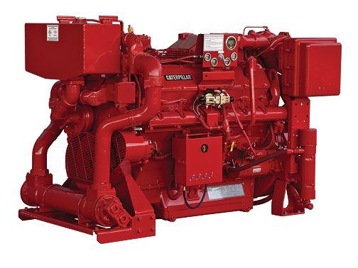 3412 - Fire Pump Engines