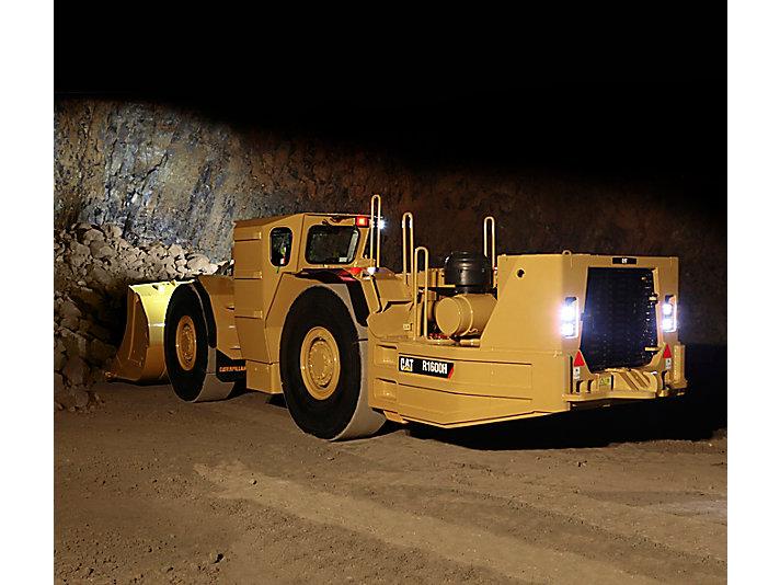 Cat   R1600H Underground Mining Loader   Caterpillar