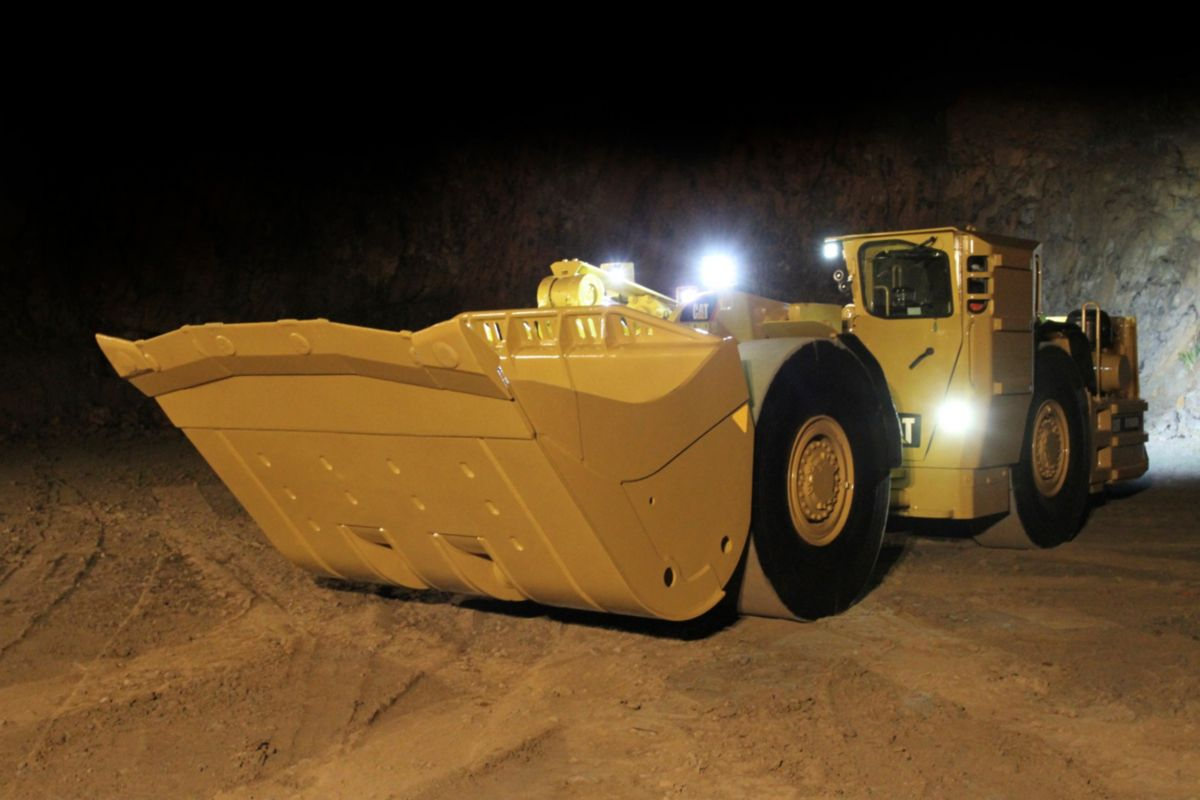 New R1600h Underground Mining Loader For Sale Whayne Cat