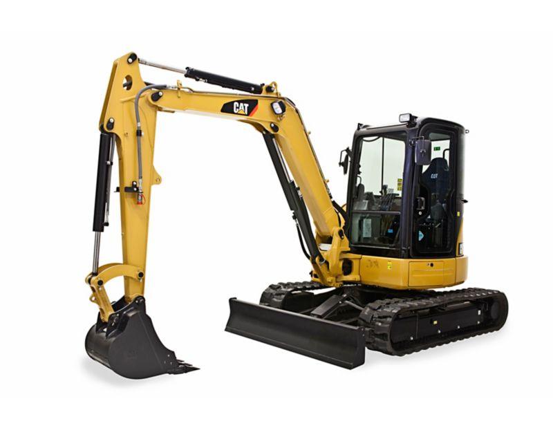 305E2 CR Mini Hydraulic Excavator with Swing Boom