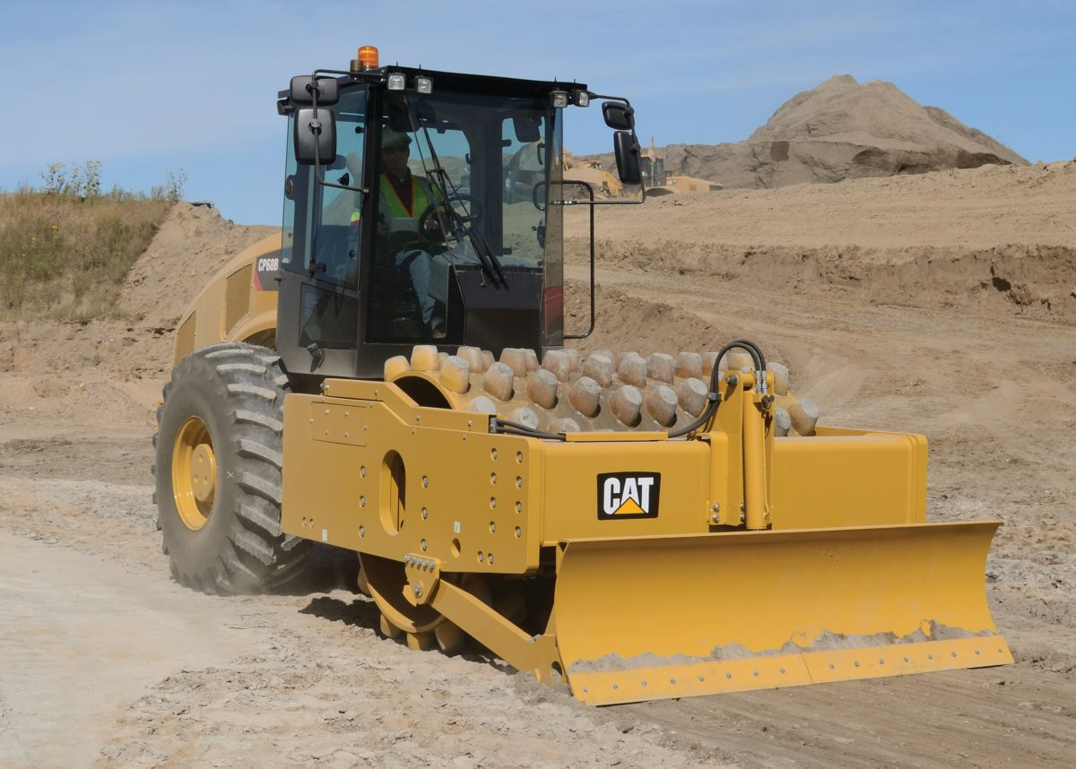 product-CP68B Vibratory Soil Compactor