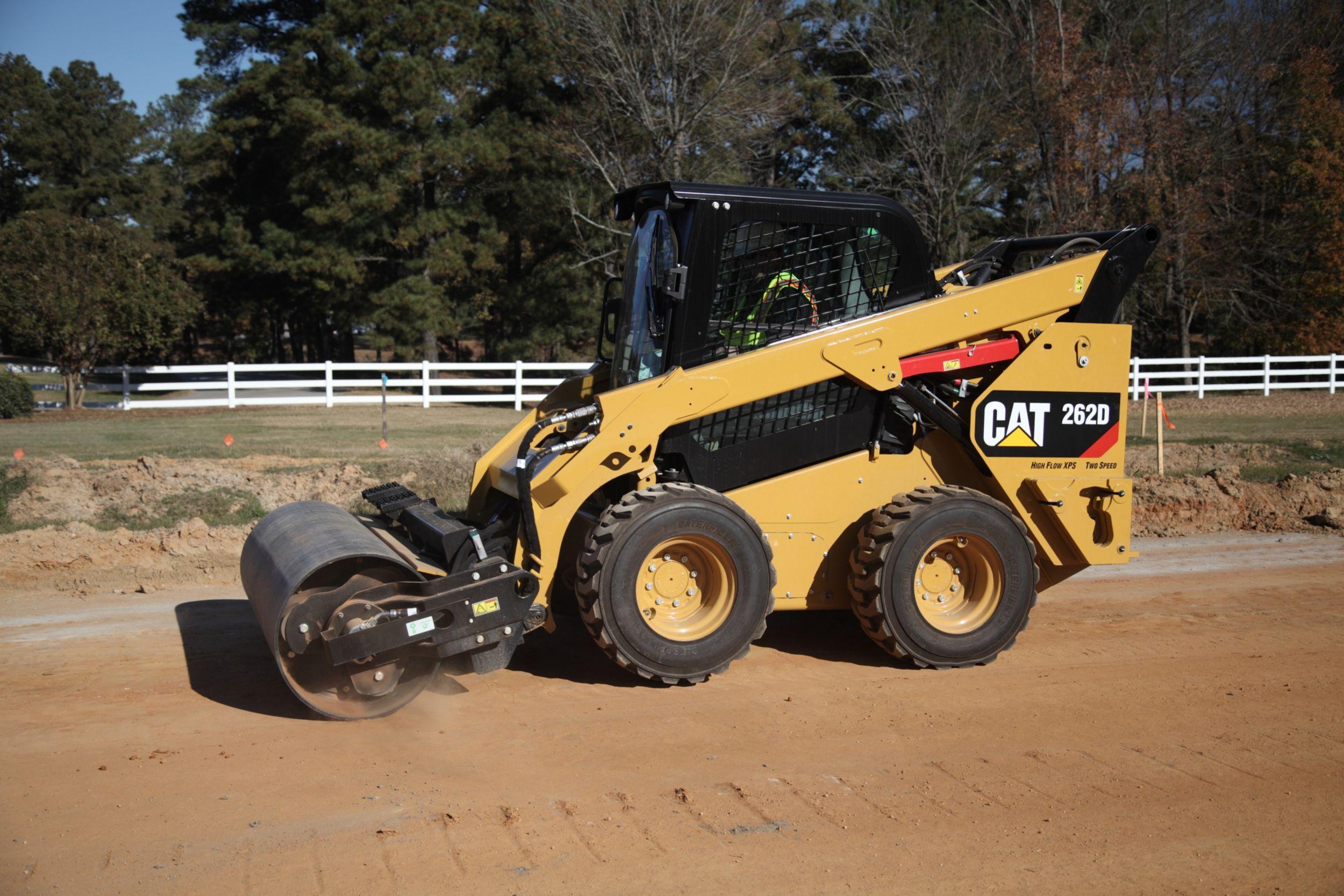 Cat | CV18B Vibratory Drum Compactor | Caterpillar