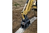 CVP40 Compacting Rock in a Trench