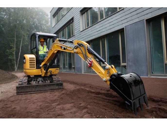 302.7D CR Mini Hydraulic Excavator