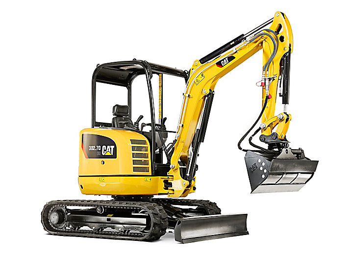 Cat 302.7D CR Mini Excavator from as little as £139.53 per week.