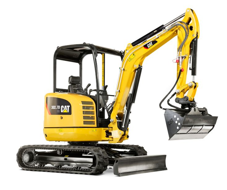 Mini Excavators - 302.7D CR