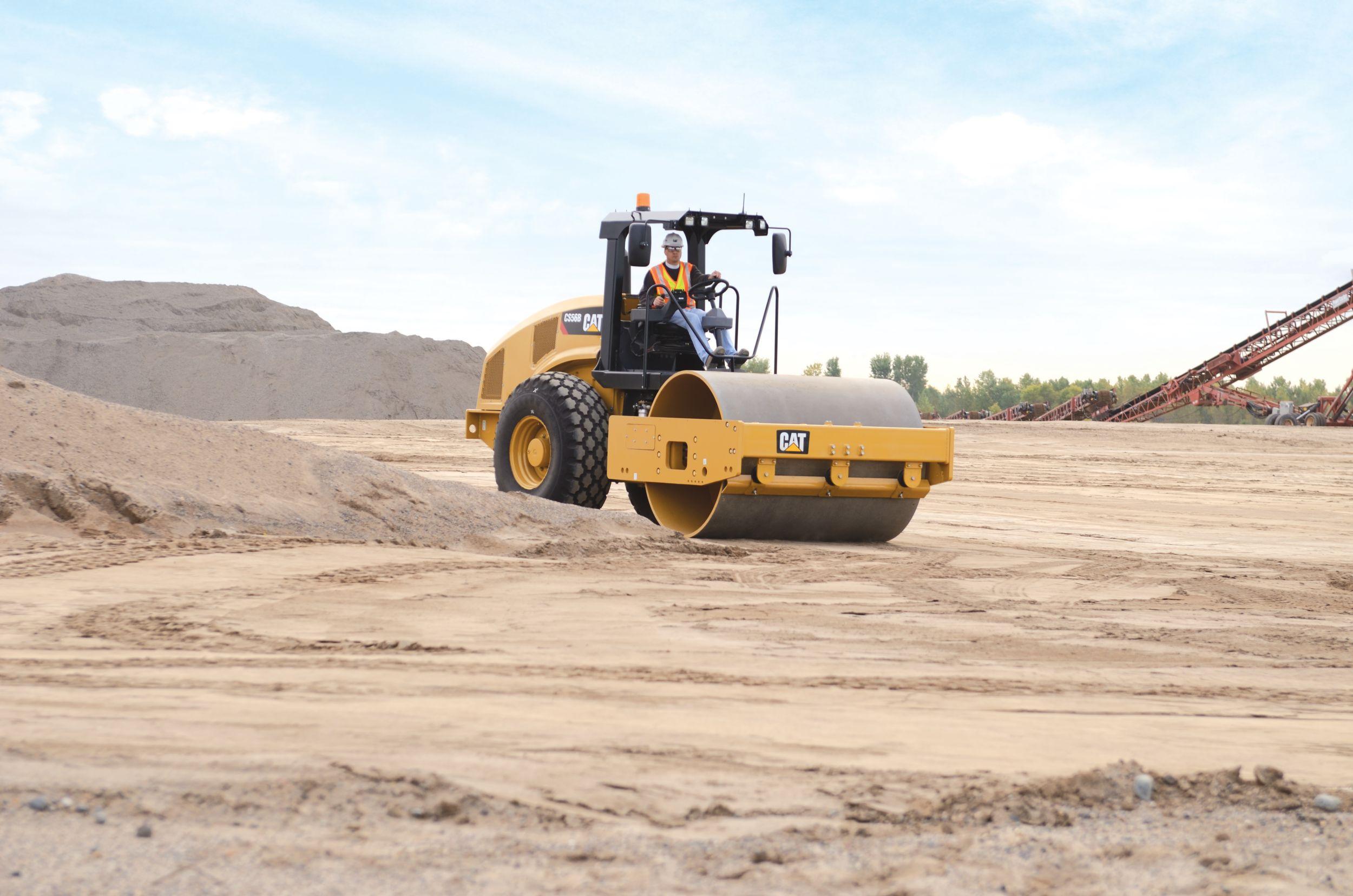 CS56B Vibratory Soil Compactor>