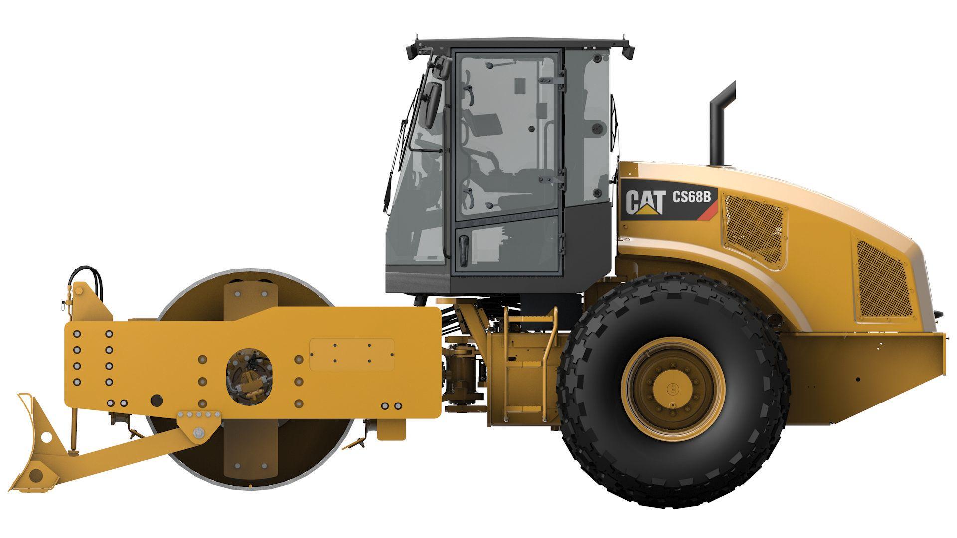 CS68B Vibratory Soil Compactor