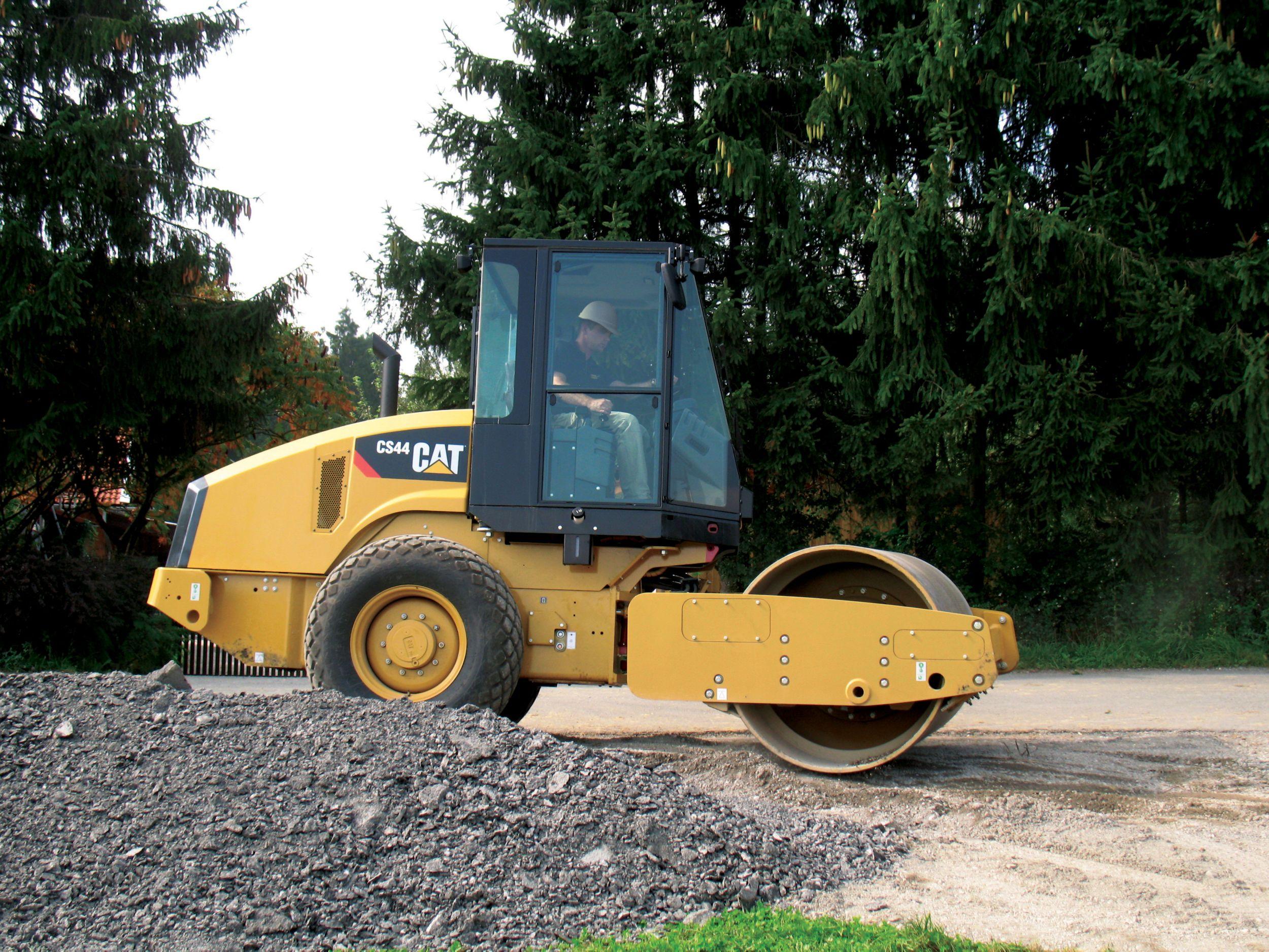 CS44 Vibratory Soil Compactor>