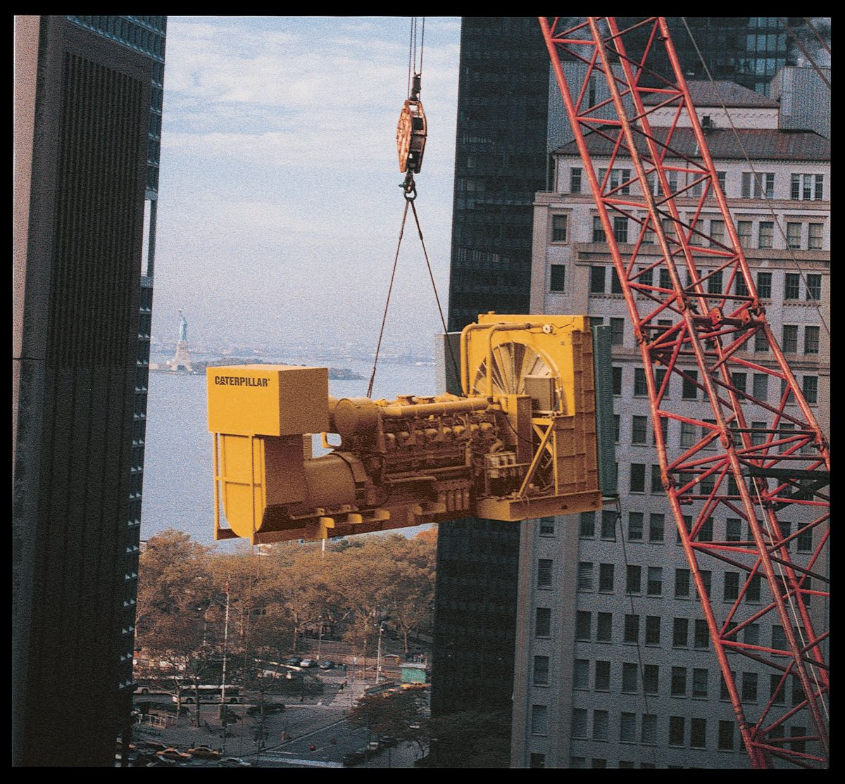 Cat 3516 Generator Set for back-up power in New York City in 1997.