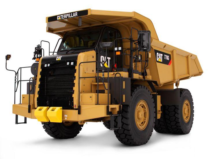 Tombereaux de chantier - 770G