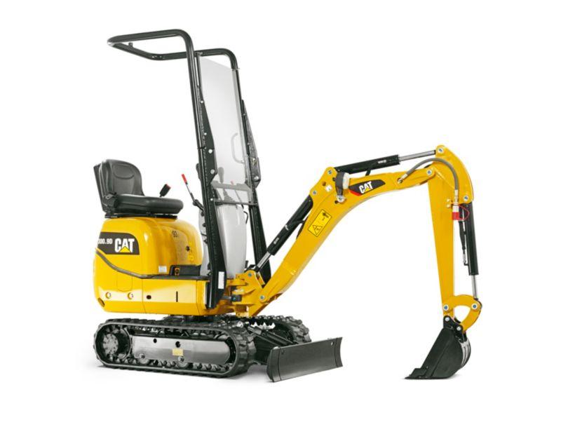 300 9d Mini Hydraulic Excavator Ziegler Cat
