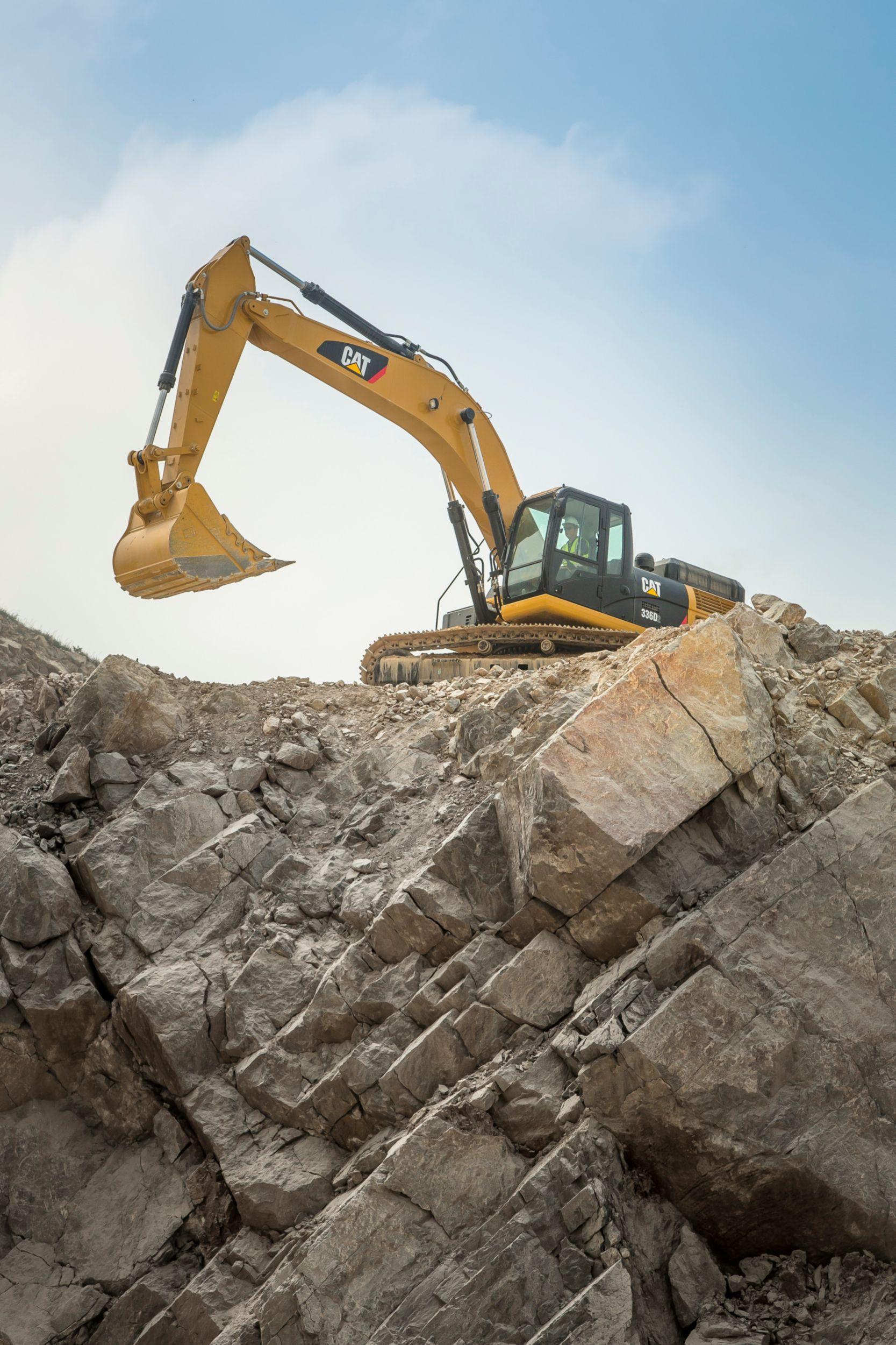 Excavadora Hidráulica Grande 336D2 L